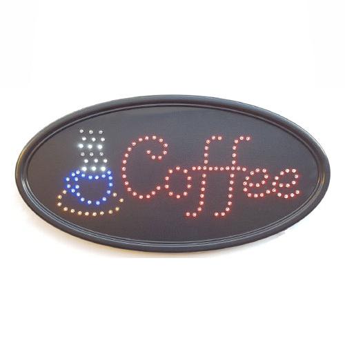 LED Coffee Sign