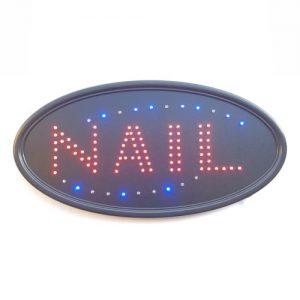 LED NAIL Sign